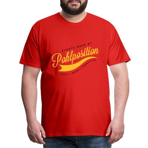 Vintage_Pohlposition_2C - Männer Premium T-Shirt