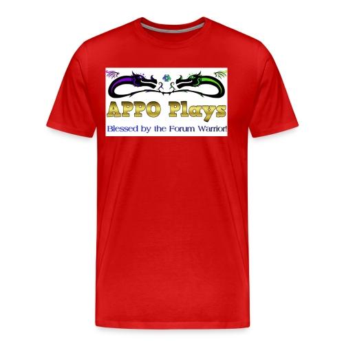 Appo Plays Dragon King - Men's Premium T-Shirt