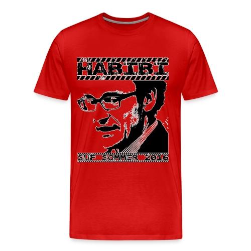 t-shirt final bitmap kopi - Herre premium T-shirt