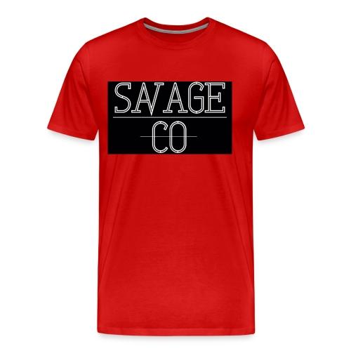 SAVAGE CO. - Camiseta premium hombre