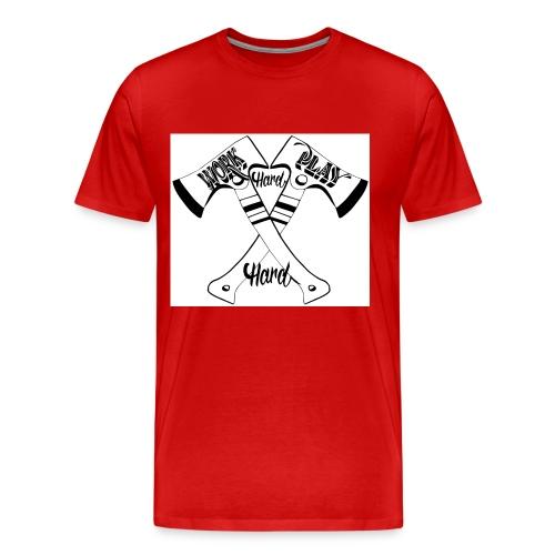 work hard play hard - T-shirt Premium Homme