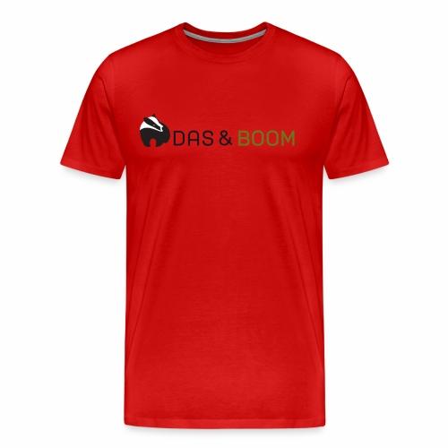logo das&boom transparant - Mannen Premium T-shirt