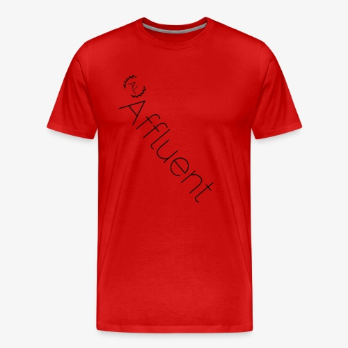Affluent Twisted T Shirt - Men's Premium T-Shirt