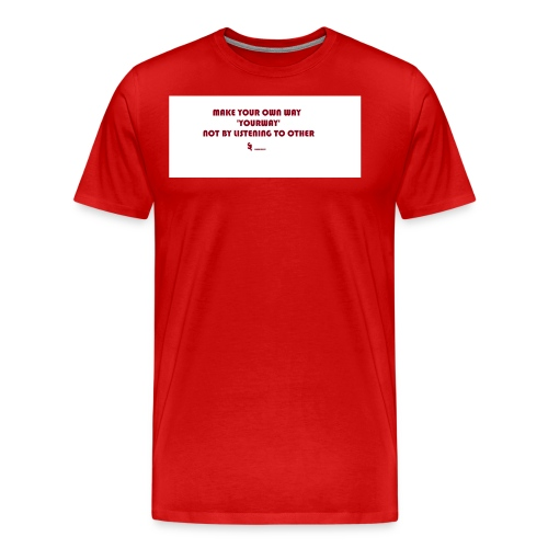 SWAGPEEPS - Men's Premium T-Shirt
