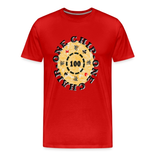 one chip one chair - T-shirt Premium Homme