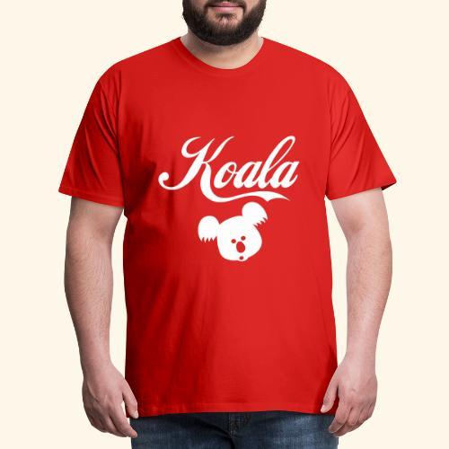 Koala Kawaii Comic Design für Australien Fans - Männer Premium T-Shirt