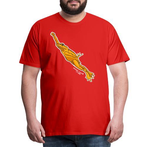 Goldkröte - Golden Toad - Männer Premium T-Shirt