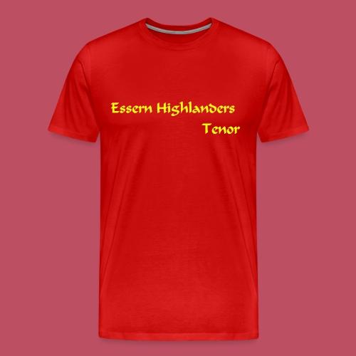 Essern_Schrift_gelb - Männer Premium T-Shirt