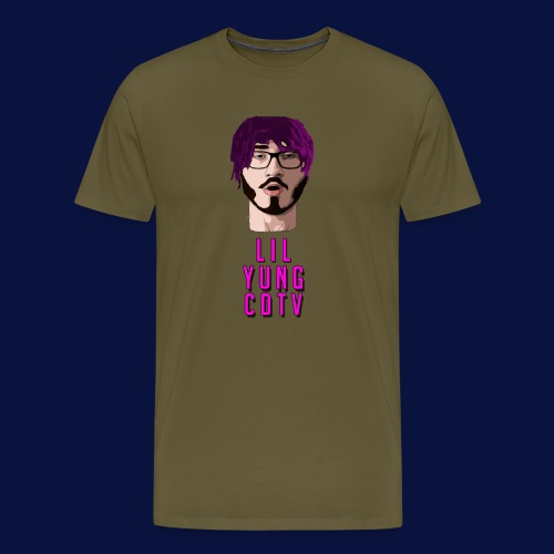 LIL YUNG CDTV ALT. TEXT - Men's Premium T-Shirt