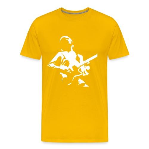 spreadshirt guitar - Camiseta premium hombre