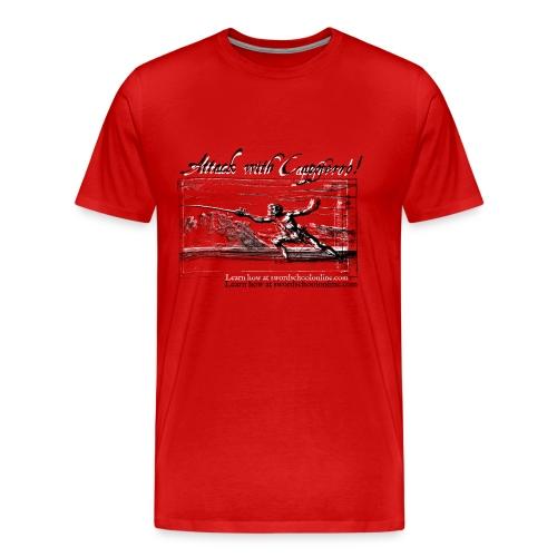 Attack with Capoferro! - Men's Premium T-Shirt