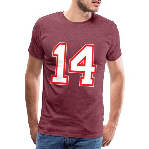 DANNIEB 14 - Maglietta Premium da uomo
