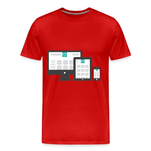 ump_responsive - Männer Premium T-Shirt