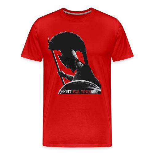 FIGHT FOR YOURSELF Spartan - Maglietta Premium da uomo