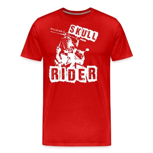 skullrider weiss png - Männer Premium T-Shirt