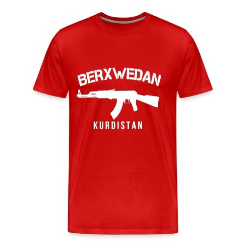 Berxwedan Kurdistan - Männer Premium T-Shirt