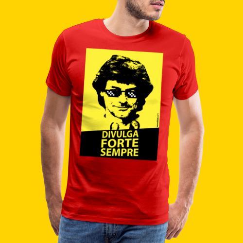 DIVULGA FORTE SEMPRE - Maglietta Premium da uomo
