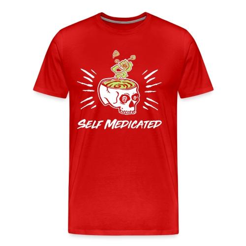 t shirt 2 kleuren wit gro - Mannen Premium T-shirt