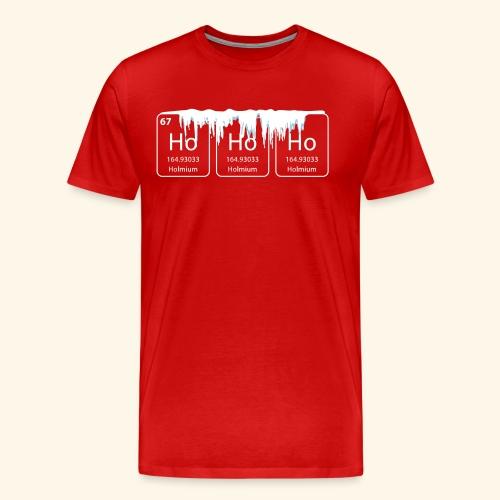 hohoho christmas nerd geek shirt - Mannen Premium T-shirt