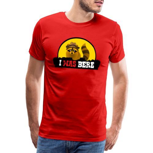 I was bere - Mannen Premium T-shirt