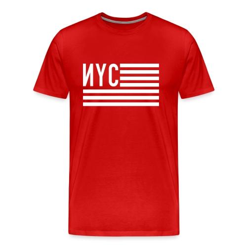 nyc flag - T-shirt Premium Homme