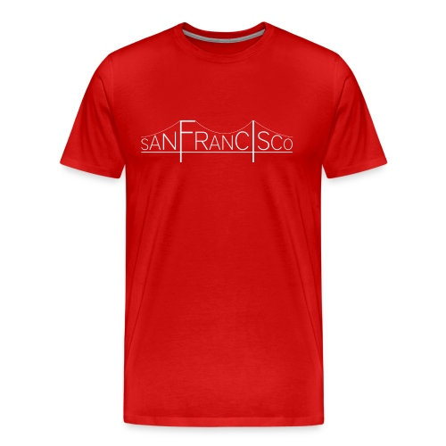San Francisco Bridge - T-shirt Premium Homme