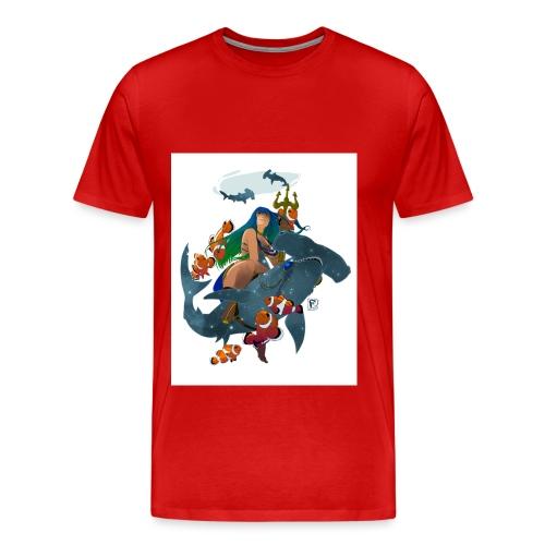 signe du poisson pisces - T-shirt Premium Homme