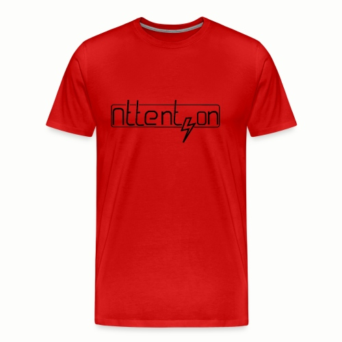 attention - Mannen Premium T-shirt