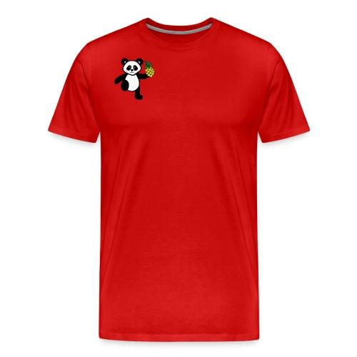 panda annanas - Premium-T-shirt herr