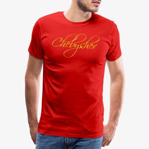 chebyshev - Premium-T-shirt herr