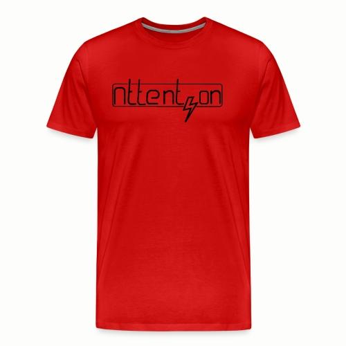 attention - Mannen Premium T-shirt