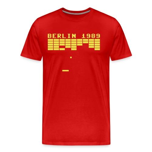 berlin1989 - Mannen Premium T-shirt
