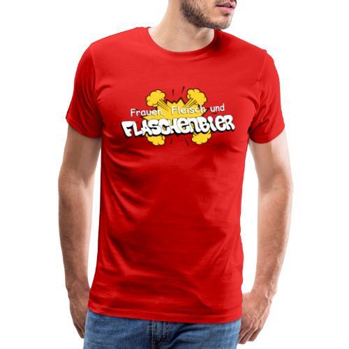 Flaschenbier - Männer Premium T-Shirt