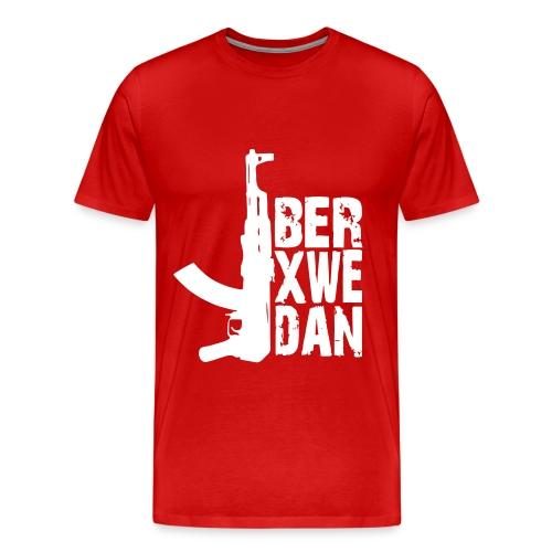 Berxwedan - Männer Premium T-Shirt