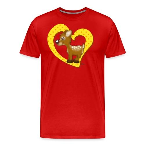 Kira Kitzi Zitronella - Männer Premium T-Shirt