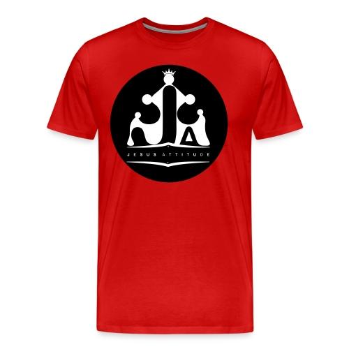 Jesus Attitude # - T-shirt Premium Homme