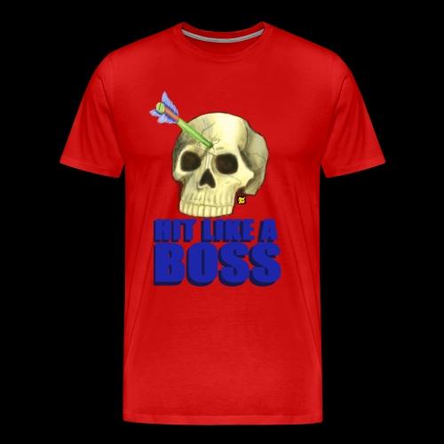 Hit Like A Boss - Men's Premium T-Shirt