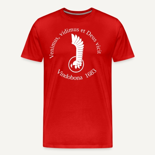 vindobonaskrzydlo - Koszulka męska Premium