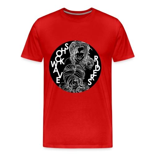 Shockwave Riders - Männer Premium T-Shirt