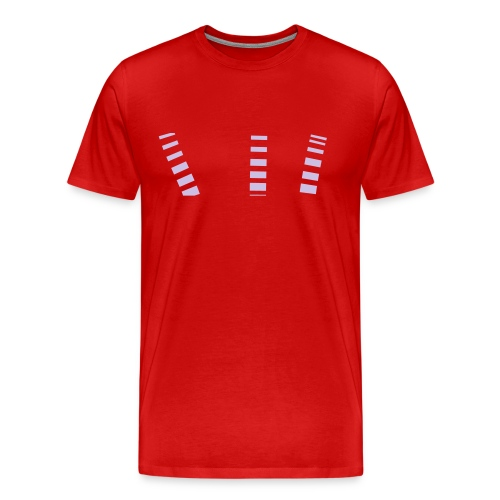 Red Out Cuts - Men's Premium T-Shirt