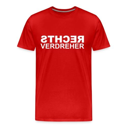 Rechtsverdreher - Männer Premium T-Shirt