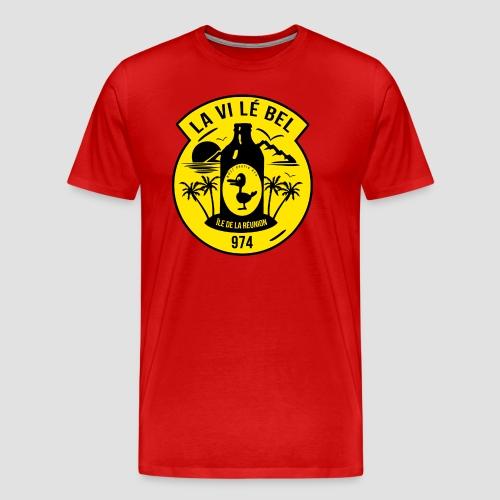 Collection La vi lé bel au 974 - T-shirt Premium Homme