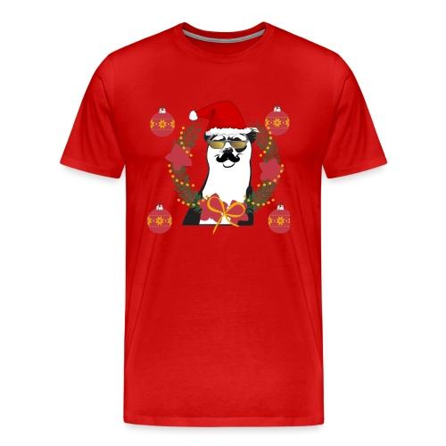Ours de noël - T-shirt Premium Homme