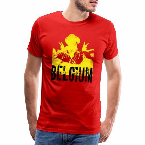 Belgie - Mannen Premium T-shirt