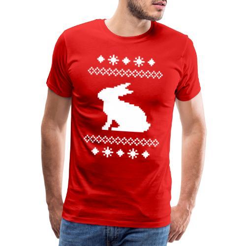 Norwegerhase hase kaninchen häschen bunny langohr - Männer Premium T-Shirt