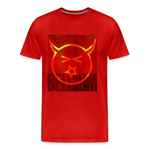 Belgium Team - Mannen Premium T-shirt