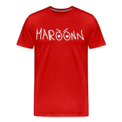 Maroonn black tee - Maglietta Premium da uomo