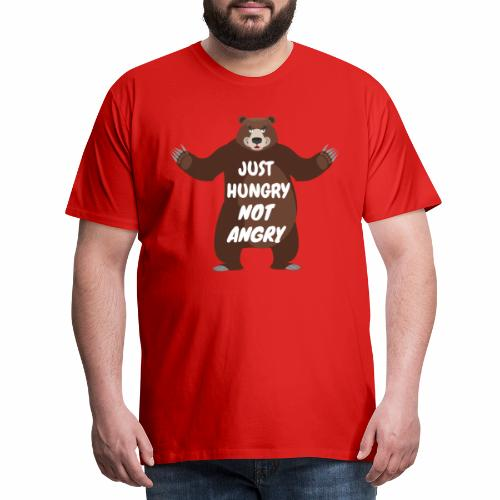 Ours Just Hungry - T-shirt Premium Homme