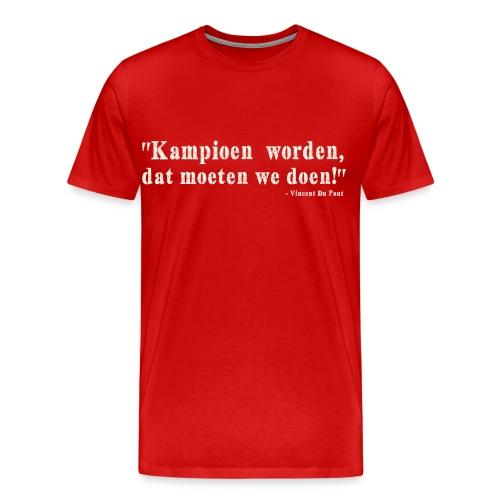 Vincent Du Pont white - Mannen Premium T-shirt