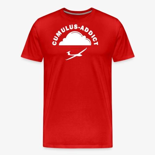 Cumulus addict white - T-shirt Premium Homme